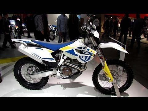 2014 Husqvarna FE 501 Walkaround - 2013 EICMA Milan Motorcycle Exhibition