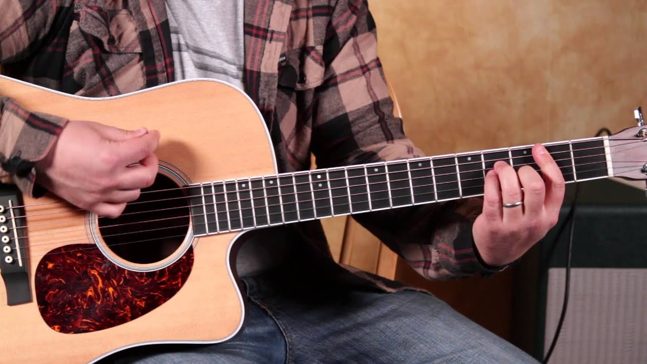 How to play Let Her Go by Passenger – Easy Acoustic guitar Lessons