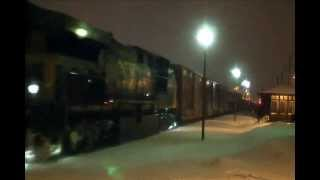 Dorval (QC) Canada  City pictures : CSX trains though Dorval,Quebec !