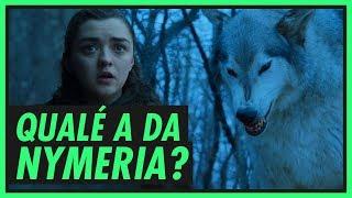 A Nymeria cagou pra Arya? Qualé a dela? Vem saber tudo!Playlist de GoT http://bit.ly/playlistgotCanal da Mikannn! http://bit.ly/mikannnPlaylist de GoT 7a temporada http://bit.ly/gameofthronesS07  Resumos das temporadas de GOT http://bit.ly/resumosGOTOs lobos Stark e seus donos http://bit.ly/lobosstarkTudo sobre a família Stark http://bit.ly/familiastark Qualé a do Varys? http://bit.ly/qualevarysAzor Ahai http://bit.ly/quemazorahaiTWITTER - http://www.twitter.com/carolmoreira3INSTAGRAM - http://www.instagram.com/carolmoreira3FACEBOOK - https://www.facebook.com/paginacarolmoreiraCaixa Postal 28211 CEP 01234-970