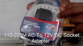 How To Convert Any 110 – 220V AC Outlet Into A 12V DC Socket Adapter