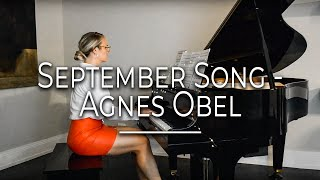 September Song - Agnes Obel - Elizabeth Vertin