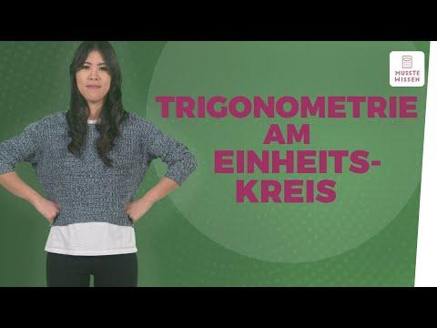 Trigonometrie anschaulich erklärt