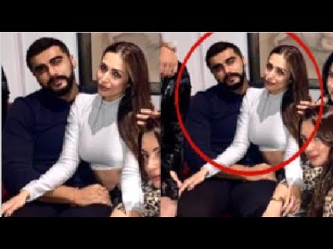 Arjun Kapoor & Malaika Arora Get Cozy & Prove Their Love For Each Other At A Party