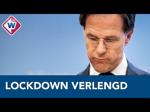 Mark Rutte: 'Lockdown duurt tot 9 februari' - OMROEP WEST