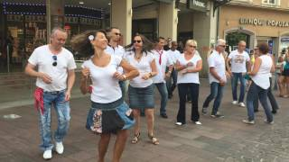 Mulhouse France  city pictures gallery : MULHOUSE 03-09-2016- INTERNATIONAL FLASH-MOB West Coast Swing 2016-