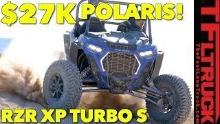 9. Even More Speed with Bigger Tires: 2018 Polaris RZR Turbo S Off-Road Review!