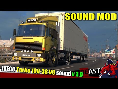 Iveco 190-38 Turbo Special V8 Sound v3.0