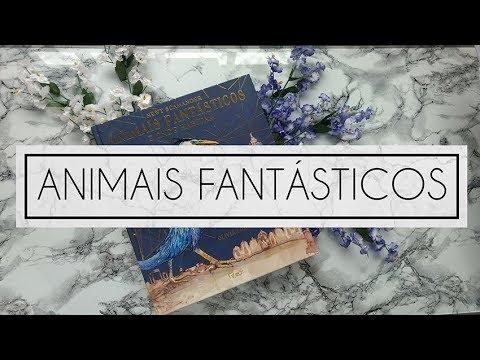 ANIMAIS FANTÁSTICOS E ONDE HABITAM | ILUSTRADO
