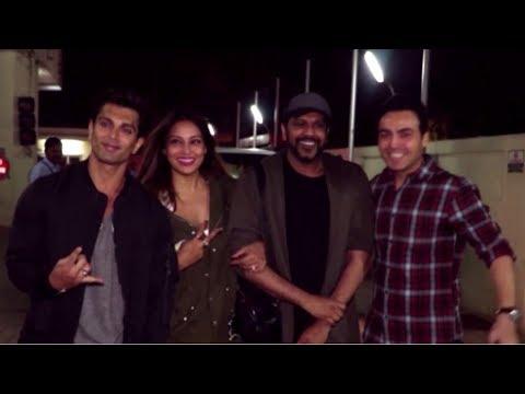 Bipasha Basu & Karan Singh Grover Spotted At PVR Juhu