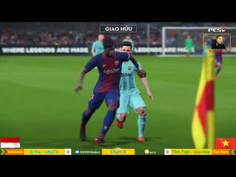 Việt Nam vs Indonesia | 2v2 nối tay | [MYM] Duy Mập + Tâm Figo vs Ady + Ananta Dedek 19-12-2017