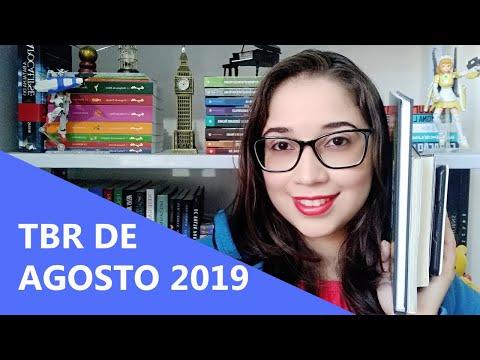 TBR DE AGOSTO 2019 ?   Biblioteca da Rô