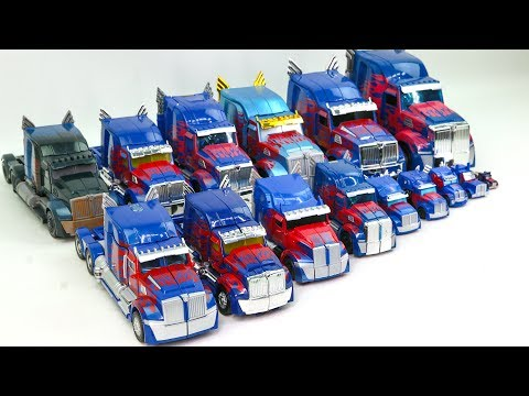 Transformers Movie 5 Tlk & 4 Aoe Blue Color Optimus Prime 15 Truck Vehicle Car Robot Toys