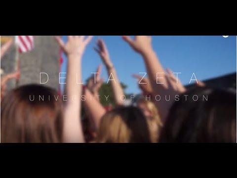 University of Houston Delta Zeta Recruitment Video 2015 (видео)