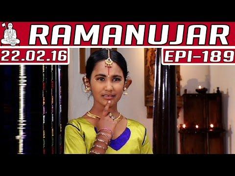 Ramanujar-Epi-189-Tamil-TV-Serial-22-02-2016-Kalaignar-TV-24-02-2016