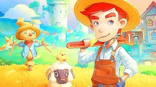 MY TIME AT PORTIA Gameplay Trailer (2019) PS4 / Xbox One / PC by Game News