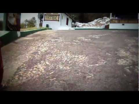 escalada ate o santuario de santa edwirgens no garrote village em caucaia ceara