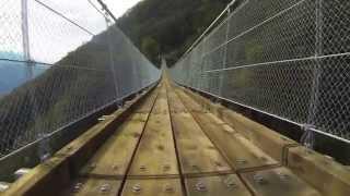 Lubisz wyzwania w pracy? To obczaj film z budowy mostu wiszącego o długości 270 metrów!