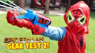 Video Spider-Man Homecoming Movie Gear Test! Real Web Shooters for Kids! Toys Review by KIDCITY MP3, 3GP, MP4, WEBM, AVI, FLV Juni 2018