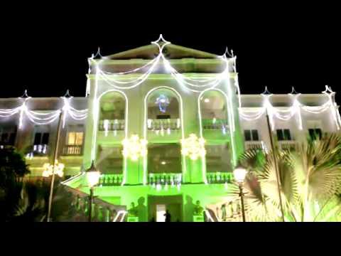 Decoração de Natal do Palácio Presidente Vargas【S.RIO】
