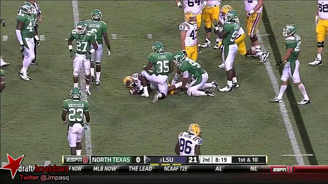 Kenny Hilliard vs North Texas (2012)