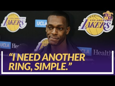 Video: Lakers Nation Interview: Rondo Compares The Young Core to Himself When He Was Learning In Boston