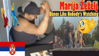 Marija - Dance Like Nobody's Watching (Official Video)|Live No Edit Reaction | Aalu Fries