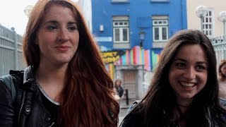 One City, 50 People, One very difficult Question Fifty People One Question - Dublin Filmed by David Strogen (16) & Alec Delaney (17), this film examines ...