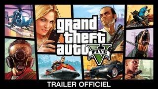 GTA V s'illustre dans un nouveau trailer