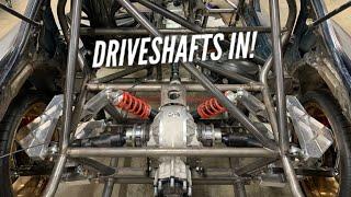 Carbon Fiber Drivetrain INSTALLED in AWD 4 Rotor RX-7!! by Rob Dahm