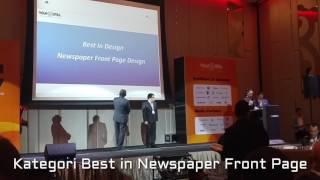 Di ajang Asian Media Award 2017 WAN-IFRA, Rabu (19/4/2017) di Kuala Lumpur, Malaysia, harianKompaskembali menerima penghargaan desain terbaik untuk kategoridesain terbaik (Best in Design) subkategoridesain halaman satu koran (Best Newspaper Front Page Design).Penghargaan ini disaksikan Perdana Menteri Malaysia Najib Tun Razak. Kali ini,Kompasmendapatkan perunggu (bronze).HarianKompasmenjadi satu-satunya media massa di Indonesia yang menerima penghargaan di kategori desain terbaik (Best in Design) di tingkat Asia tersebut. Ratusan koran dan majalah telah mengirimkan karya mereka ke WAN-IFRA.(Kompas.com/Amir Sodikin)