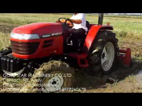 Yanmar four wheels drive tractor demo new model EF494T