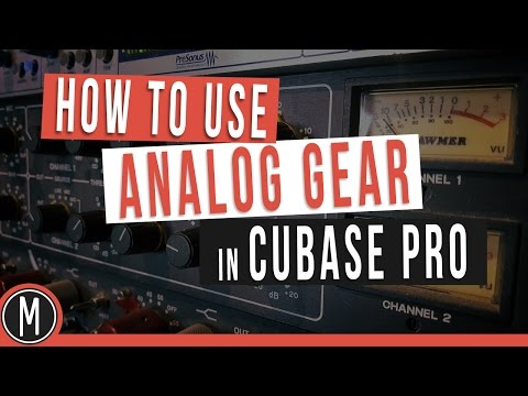 CUBASE QUICK TIP  /   HOW TO USE ANALOG GEAR IN CUBASE PRO - mixdown.online