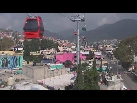 Μεξικό: Τελεφερίκ αντί για αστικά λεωφορεία