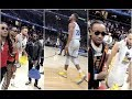 Quavo Begs Stephen Curry For Game Shoes And Ends Up Getting Autographed Jersey Also