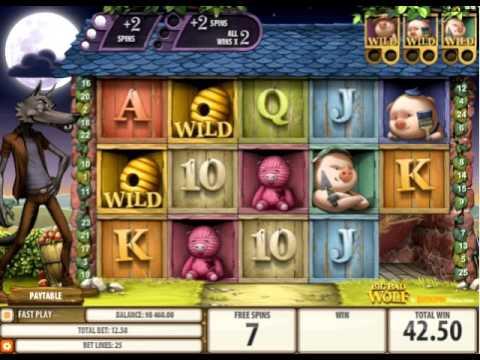 Игровые автоматы три поросенка и серый волк играть онлайн бесплатно