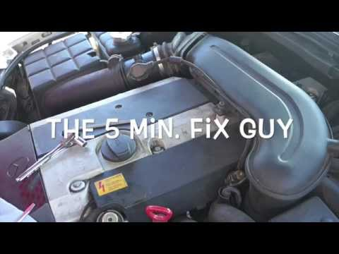 Mercedes C280 1996 – How to change spark plugs and coil