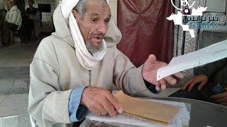 تيزنيت : شيخ سبعيني يُقرر الإعتصام والدخول في إضراب عن الطعام أمام المحكمة