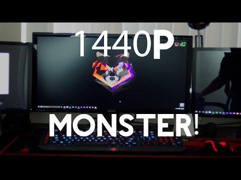 BenQ GW2765HT Monitor UNBOXING [27