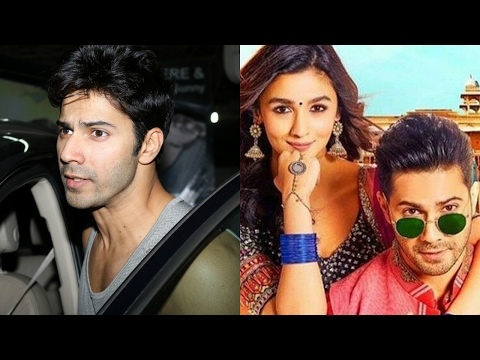 Varun Dhawan Spotted At Sunny Super Sound For Dubbing Of Badrinath Ki Dulhania