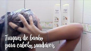 Fica a Dica – Truques de banho para manter os cabelos saudáveis