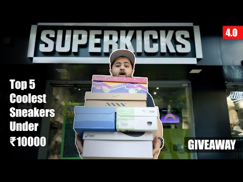 Top 5 Coolest Sneakers Under ₹10000 (4.0) | Adidas, Puma, Reebok, Asics & Nike
