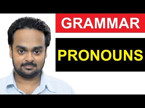 PRONOUNS - Basic English Grammar - Parts of Speech - What is a Pronoun? - Types of Pronoun - Grammar