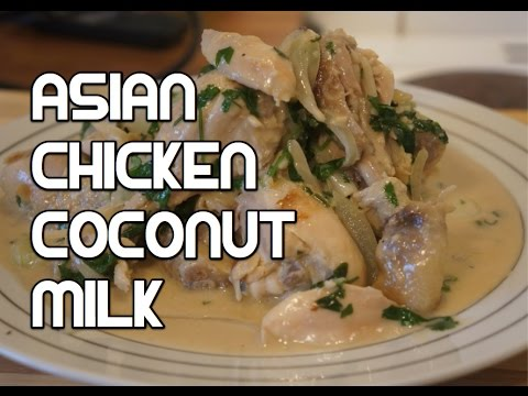 Easy Thai Style Chicken & Coconut Recipe – Asian Lemon Grass