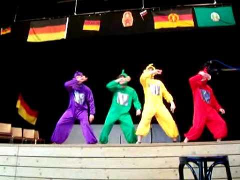 Teletubbie Tanz - letzter Schultag ABI 08 Prenzlau