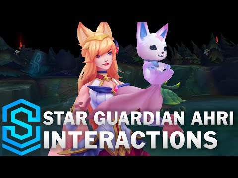 Star Guardian Ahri Special Interactions