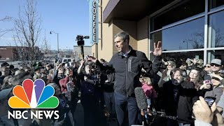 Beto O'Rourke Comments On Record-Breaking 2020 Fundraising   NBC News