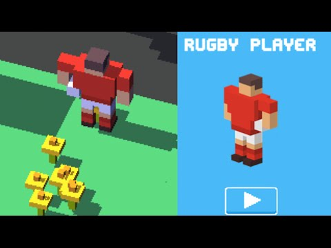 ★ Crossy Road Unlock Rugby Player ★ New Secret Character | Ios, Android