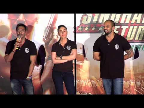 First Look Promo Launch Of Singham Returns