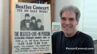 """Video Beatles Concert Poster 1966 Cleveland - """"Tix On Sale Here!"""" Sign MP3, 3GP, MP4, WEBM, AVI, FLV Juli 2018"""